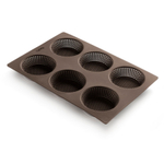 Lekue Silicone Perforated Bread Roll Pan