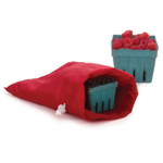 RSVP Red Nylon Berry Storage Bag with Drawstring