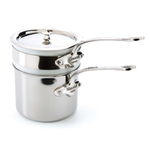 Mauviel M'cook Stainless Steel 1.6 Quart Bain Marie