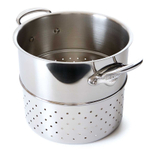 Mauviel M'cook Stainless Steel 9.5 Inch Pasta Insert