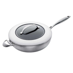 Scanpan CTX Steel 2 Quart Covered Saute Pan