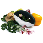 Norpro Stainless Steel Double Blade Mezzaluna Chopper