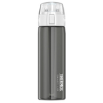 Thermos Smoke Gray 24 Ounce Connected Hydration Bottle with Smart Lid