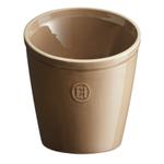 Emile Henry Oak Ceramic 5.5 Inch Utensil Pot