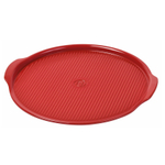 Emile Henry Burgundy Ceramic 12.6 Inch Medium Pizza Stone