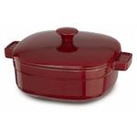 KitchenAid KCLI40CRER Streamline Empire Red Cast Iron 4-Quart Casserole Dish with Lid