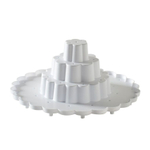 Nordic Ware White Tiered 36 Cake Pop Stand