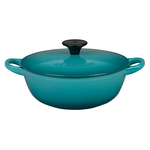Le Creuset Caribbean Enameled Cast Iron 1.5 Quart Soup Pot