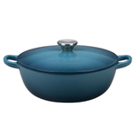 Le Creuset Marine Enameled Cast Iron 3.5 Quart Soup Pot