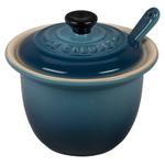 Le Creuset Marine Stoneware 6.75 Ounce Condiment Pot