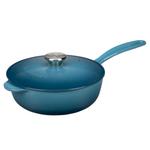 Le Creuset Marine Enameled Cast Iron 2.25 Quart Saucier Pan