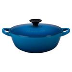 Le Creuset Marseille Enameled Cast Iron 1.5 Quart Soup Pot