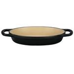 Le Creuset Signature Matte Licorice Enameled Cast Iron 5/8 Quart Oval Baker