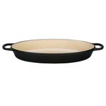 Le Creuset Signature Matte Licorice Enameled Cast Iron 3 Quart Oval Baker