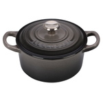 Le Creuset Signature Oyster Enameled Cast Iron 1 Quart Round French Oven