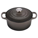 Le Creuset Signature Oyster Enameled Cast Iron 2 Quart Round French Oven