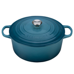 Le Creuset Signature Marine Enameled Cast Iron 9 Quart Round French Oven
