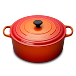 Le Creuset Signature Flame Enameled Cast Iron 13.25 Quart Round French Oven