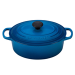Le Creuset Signature Marseille Enameled Cast Iron 2.75 Quart Oval Dutch Oven