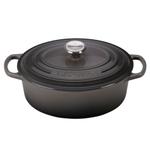 Le Creuset Signature Oyster Enameled Cast Iron 2.75 Quart Oval Dutch Oven
