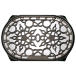 Le Creuset Oyster Enameled Cast Iron 10.5 Inch Oval Trivet