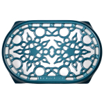 Le Creuset Marine Enameled Cast Iron 10.5 Inch Oval Trivet