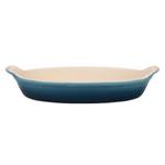 Le Creuset Heritage Marine Stoneware 6 Ounce Petite Au Gratin Dish