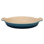 Le Creuset Heritage Marine Stoneware 1.7 Quart Au Gratin Dish
