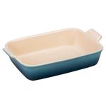 Le Creuset Heritage Marine Stoneware 2.5 Quart Rectangular Dish