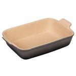Le Creuset Oyster Heritage Stoneware 2.5 Quart Rectangular Dish