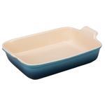 Le Creuset Marine Heritage Stoneware 4 Quart Rectangular Dish