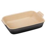 Le Creuset Oyster Heritage Stoneware 4 Quart Rectangular Dish