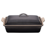 Le Creuset Oyster Heritage Stoneware Covered 4 Quart Rectangular Casserole Dish