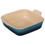 Le Creuset Heritage Marine Stoneware 9 Inch Square Baking Dish