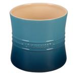 Le Creuset Marine Stoneware 2.75 Quart Utensil Crock