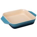 Le Creuset Marine Stoneware 2.2 Quart Square Baking Dish