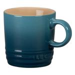 Le Creuset Marine Stoneware 3.5 Ounce Petite Espresso Mug