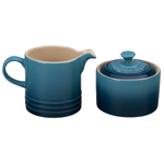 Le Creuset Marine Stoneware Cream and Sugar Set