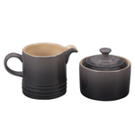 Le Creuset Oyster Stoneware Cream and Sugar Set