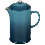 Le Creuset Marine Stoneware 27 Ounce French Press Coffee Maker