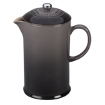 Le Creuset Oyster Stoneware 27 Ounce French Press Coffee Maker
