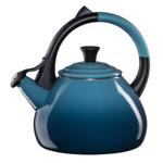 Le Creuset Marine Enamel on Steel 1.6 Quart Oolong Tea Kettle