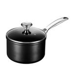 Le Creuset Toughened Steel 2 Quart Saucepan with Glass Lid