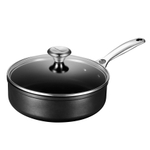 Le Creuset Toughened Steel 3.5 Quart Sauté Pan with Glass Lid