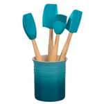 Le Creuset Craft Series Caribbean 5-Piece Utensil and Crock Set