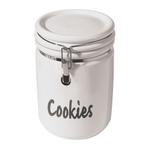 Oggi Ceramic 3.75 Quart Jumbo Round Cookie Jar