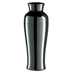 Oggi Nickel Plated Stainless Steel Tall & Slim 26 Ounce Cocktail Shaker
