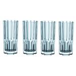 Nachtmann Aspen Fine Crystal Long Drink Glass, Set of 4