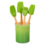 Le Creuset Craft Series Palm 5-Piece Utensil and Crock Set