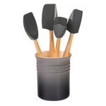 Le Creuset Craft Series Oyster 5-Piece Utensil and Crock Set